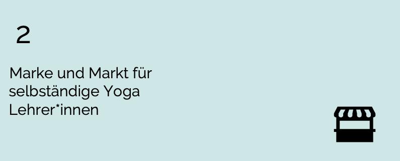 Yoga Markt – Deine Positionierung